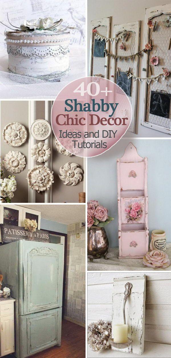 DIY Shabby Chic Decor