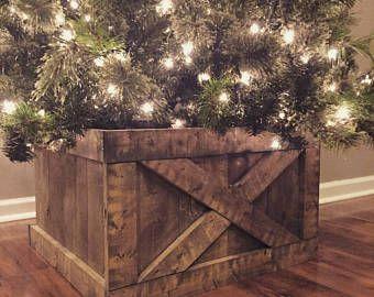 Christmas Tree Box Stand