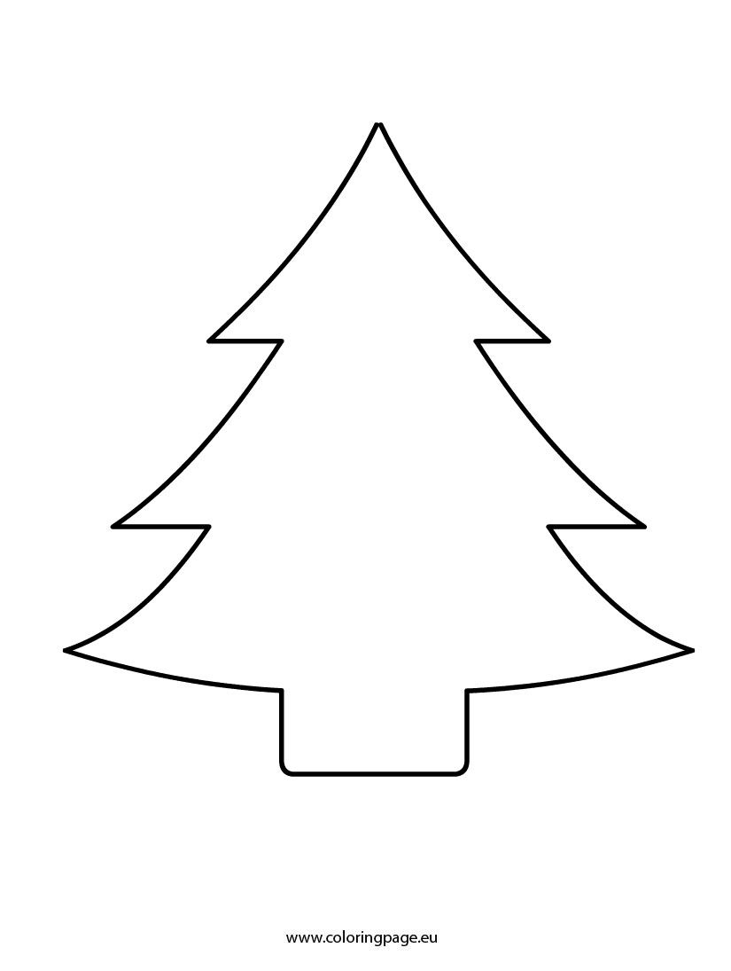 Christmas Tree Cut Out