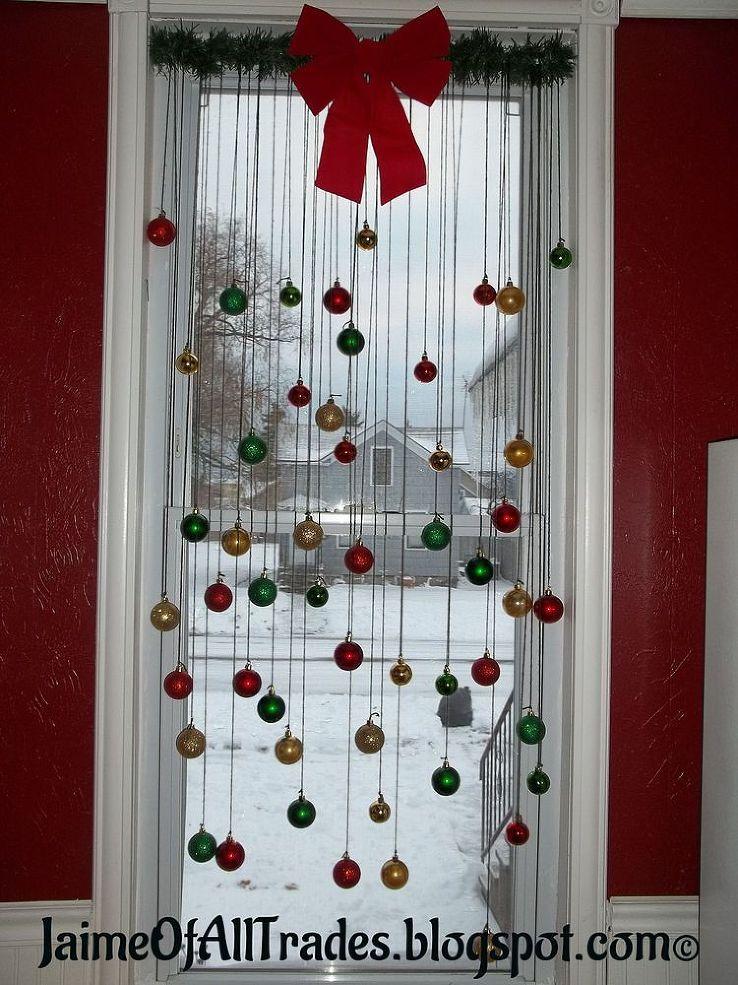 DIY Christmas Window Decorations