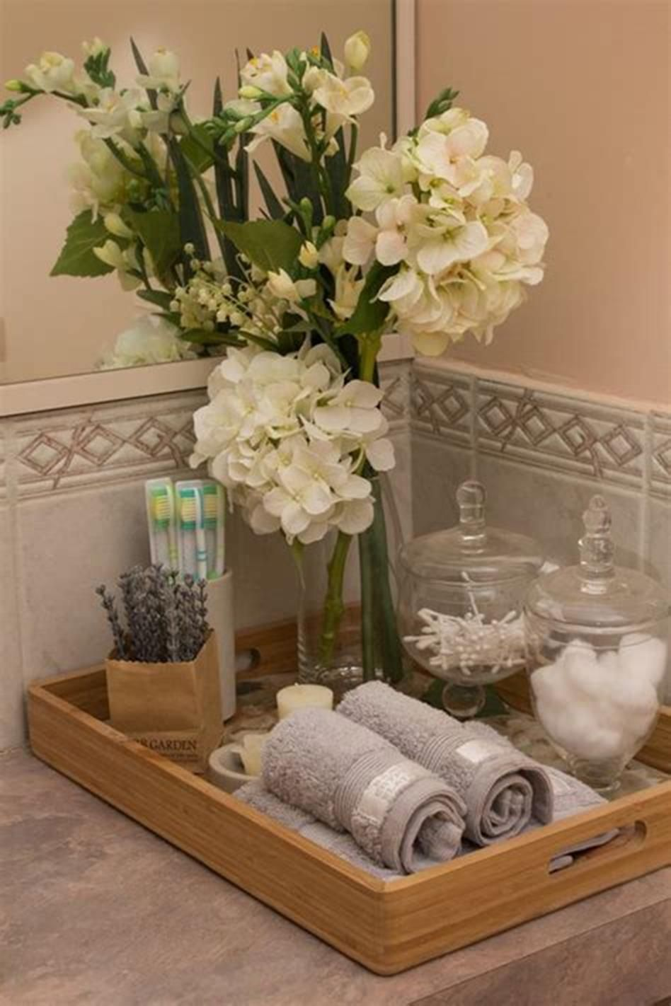Bathroom Vanity Tray