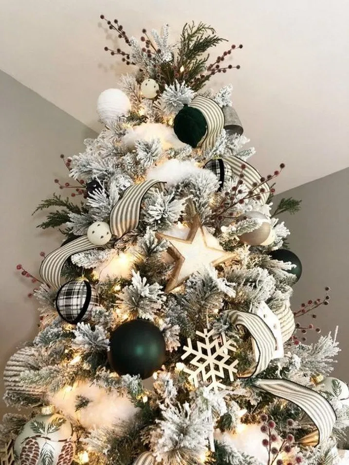 Black Christmas Tree Decorations