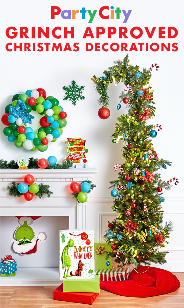 Party City Christmas Decorations